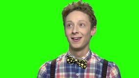 Σκεπτικός έφηβος αφηρημάδας απόθεμα βίντεο
