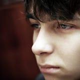 σκεπτικός έφηβος Στοκ Εικόνες