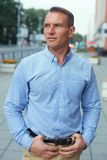 σκεπτικό πορτρέτο ατόμων Στοκ Εικόνες