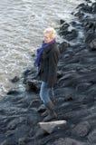 σκεπτόμενες γυναίκες Στοκ Εικόνες