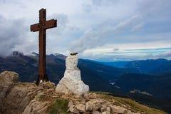 Σκεπτόμενο άγαλμα Χριστού Στοκ φωτογραφίες με δικαίωμα ελεύθερης χρήσης
