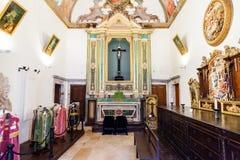 Σκευοφυλάκιο της εκκλησίας Misericordia Στοκ Φωτογραφία