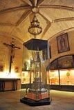 Σκευοφυλάκιο του καθεδρικού ναού CÃ ¡ ceres, Εστρεμαδούρα, Ισπανία στοκ εικόνα
