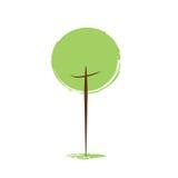 Σκεφτείτε την πράσινη έννοια οικολογίας Στοκ Εικόνες