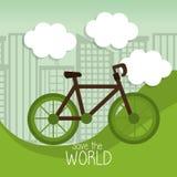 Σκεφτείτε το πράσινο σχέδιο Στοκ φωτογραφίες με δικαίωμα ελεύθερης χρήσης