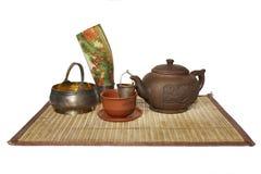 Σκεύος για την κουζίνα για το τσάι Στοκ εικόνα με δικαίωμα ελεύθερης χρήσης