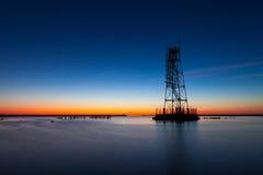 Σκελετικός ελαφρύς πύργος πλαισίων Στοκ φωτογραφία με δικαίωμα ελεύθερης χρήσης