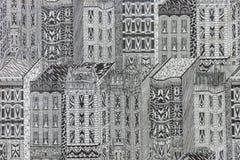 Σκηνές από μια αναπτυγμένος μητρόπολη μια θερινή ημέρα απεικόνιση αποθεμάτων