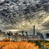 Σκηνές από την πόλη της Νέας Υόρκης Στοκ Εικόνα