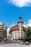 Σκηνές από το στο κέντρο της πόλης του Βουκουρεστι'ου, Στοκ Εικόνα