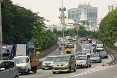 Σκηνές οδών της Κουάλα Λουμπούρ, Μαλαισία Στοκ εικόνα με δικαίωμα ελεύθερης χρήσης