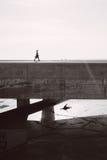 Σκηνές φόρουμ της Βαρκελώνης Στοκ φωτογραφία με δικαίωμα ελεύθερης χρήσης