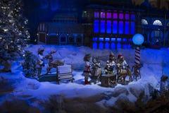 Σκηνές Χριστουγέννων Στοκ φωτογραφία με δικαίωμα ελεύθερης χρήσης