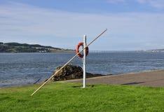 Σκηνή ακτών της σκωτσέζικης εκβολής στοκ φωτογραφία