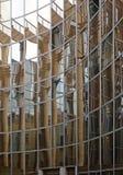 σκηνή αντανακλάσεων γραφείων οικοδόμησης αστική Στοκ Φωτογραφία