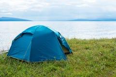 Σκηνή από τη λίμνη Στοκ εικόνες με δικαίωμα ελεύθερης χρήσης