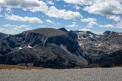 Σκηνή από το δύσκολο εθνικό πάρκο βουνών στοκ φωτογραφίες με δικαίωμα ελεύθερης χρήσης
