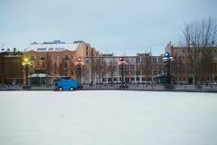 σκηνή αστική Στοκ εικόνες με δικαίωμα ελεύθερης χρήσης