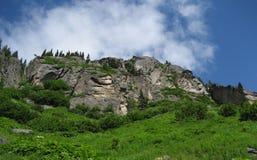 Σκηνή Αλάσκα βουνών Στοκ Φωτογραφία