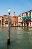 Σκηνή Βενετία Ιταλία ποταμών Στοκ φωτογραφίες με δικαίωμα ελεύθερης χρήσης
