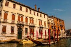 Σκηνή Βενετία Ιταλία ποταμών Στοκ Εικόνες