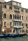 σκηνή Βενετία της Ιταλίας & Στοκ Εικόνα