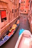 σκηνή Βενετία Στοκ εικόνες με δικαίωμα ελεύθερης χρήσης