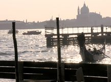 σκηνή Βενετία Στοκ Φωτογραφίες