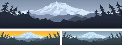 Σκηνή βουνών Στοκ Φωτογραφίες