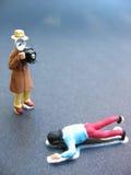 σκηνή εγκλήματος Στοκ εικόνα με δικαίωμα ελεύθερης χρήσης