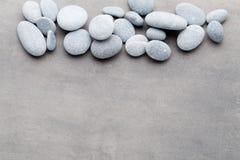 Σκηνή επεξεργασίας πετρών SPA, zen όπως τις έννοιες στοκ φωτογραφία