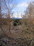 Σκηνή ερήμων Στοκ φωτογραφίες με δικαίωμα ελεύθερης χρήσης