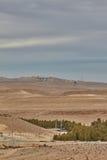 Σκηνή ερήμων Negev Στοκ εικόνες με δικαίωμα ελεύθερης χρήσης