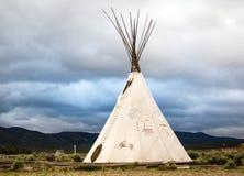 Σκηνή ερυθρόδερμων αμερικανού ιθαγενούς Στοκ Εικόνες