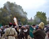 Σκηνή ημέρας εορτασμού Plovdiv Στοκ Εικόνες