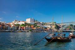 Σκηνή ημέρας του Πόρτο, Πορτογαλία Στοκ φωτογραφία με δικαίωμα ελεύθερης χρήσης