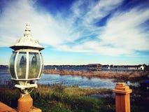 Σκηνή λιμνών Στοκ Εικόνες