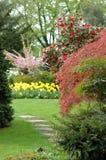 σκηνή κήπων Στοκ Φωτογραφία