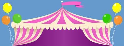 Σκηνή καρναβαλιού τσίρκων Στοκ εικόνες με δικαίωμα ελεύθερης χρήσης