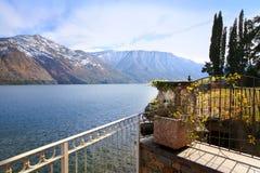 σκηνή λιμνών της Ιταλίας como στοκ φωτογραφία με δικαίωμα ελεύθερης χρήσης