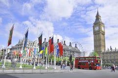 Σκηνή Λονδίνο οδών Στοκ Φωτογραφία