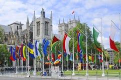 Σκηνή Λονδίνο οδών Στοκ φωτογραφίες με δικαίωμα ελεύθερης χρήσης