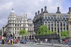Σκηνή Λονδίνο οδών Στοκ φωτογραφία με δικαίωμα ελεύθερης χρήσης