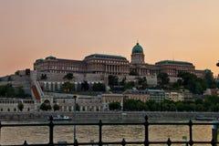 Σκηνή μέσα, Βουδαπέστη Ουγγαρία στοκ φωτογραφία με δικαίωμα ελεύθερης χρήσης