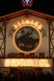 Σκηνή μπύρας σε Oktoberfest Στοκ φωτογραφία με δικαίωμα ελεύθερης χρήσης