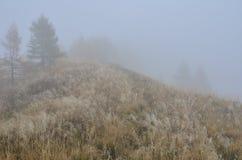 Σκηνή μυστηρίου στα βουνά Στοκ φωτογραφία με δικαίωμα ελεύθερης χρήσης