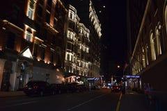 Σκηνή Νέα Υόρκη, Νέα Υόρκη οδών Στοκ εικόνα με δικαίωμα ελεύθερης χρήσης
