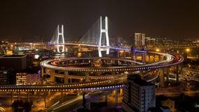 Σκηνή νύχτας πόλεων Tianqiao Chongqing φιλμ μικρού μήκους