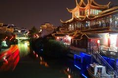σκηνή νύχτας της Κίνας Στοκ Εικόνα