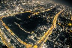 Σκηνή νύχτας της Οζάκα Στοκ φωτογραφία με δικαίωμα ελεύθερης χρήσης